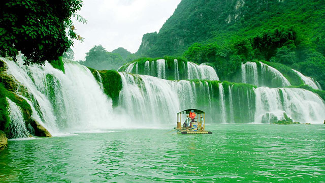 Ban Gioc waterfall, Vietnam   Du lich Ban Gioc waterfall ...