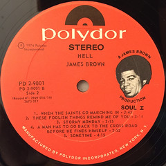 JAMES BROWN:HELL(LABEL SIDE-B)