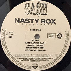 NASTY ROX INC:CA$H(LABEL SIDE-B)