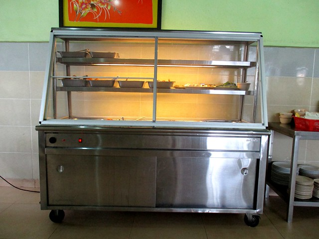 Ameer MZ Cafe nasi campur cabinet