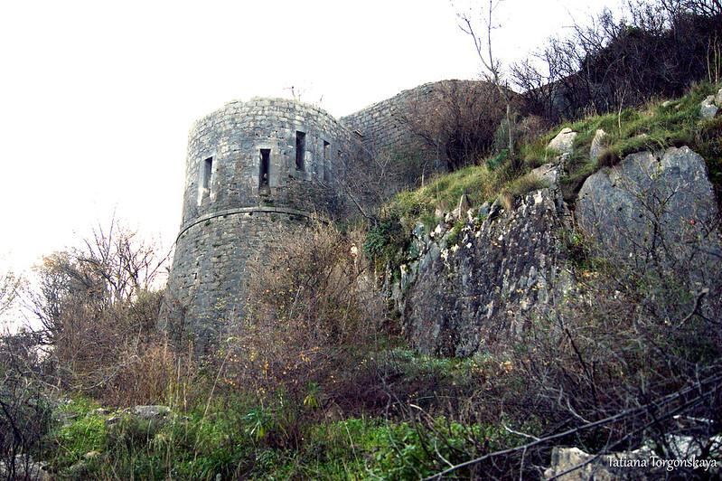 Вид на форт Вериге