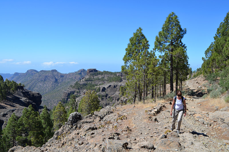 Walking on Gran Canaria, Canary Islands