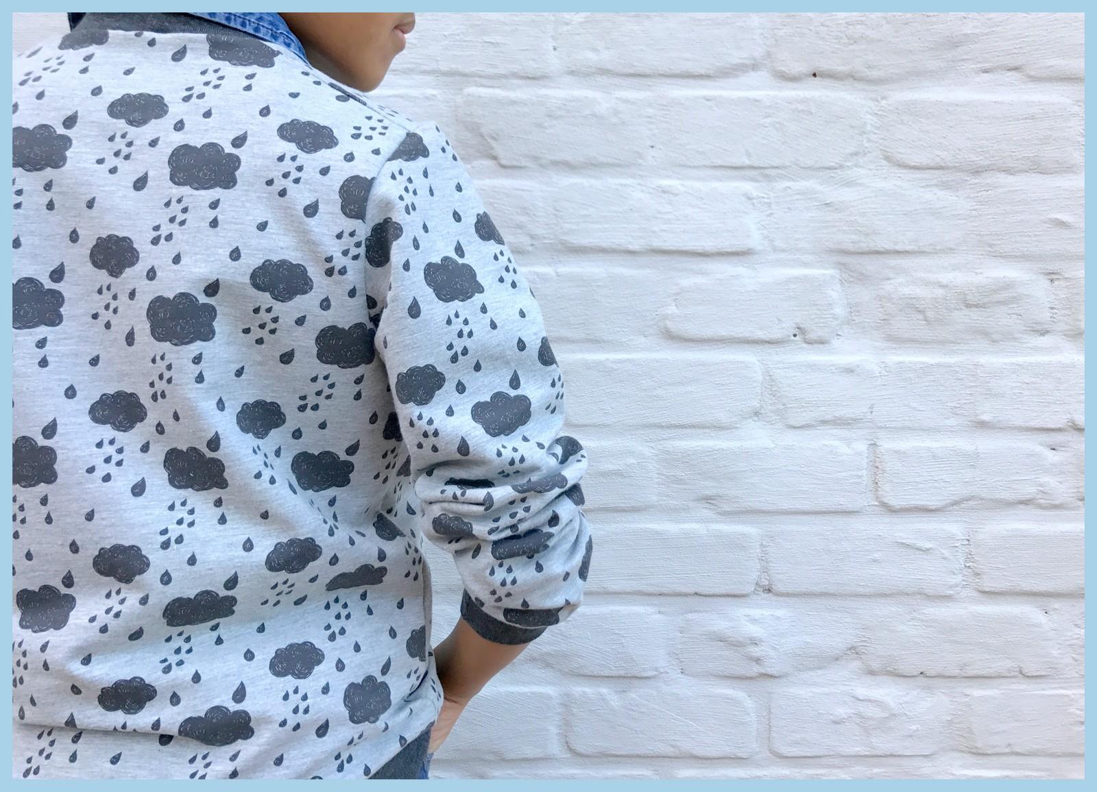 rainy sweater (back)