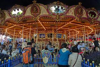 Disneyland Hongkong - Cinderella Carousel
