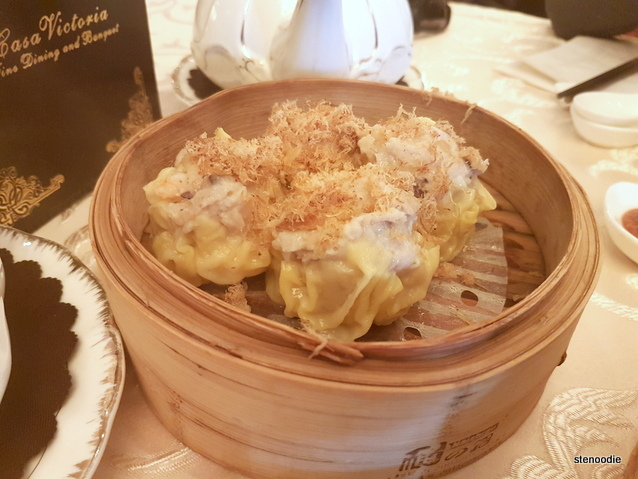 Siu Mai -Shrimp & Pork Dumpling with Conpoy