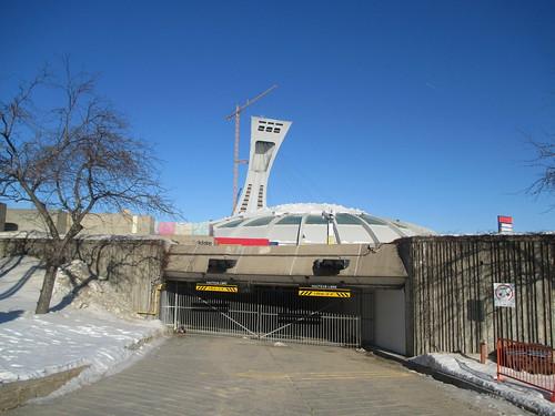 Stade Olympique/Olympic Stadium (3) #montreal #montréal #stadeolympique #olympicstadium #architecture #hochelagamaisonneuve #latergram