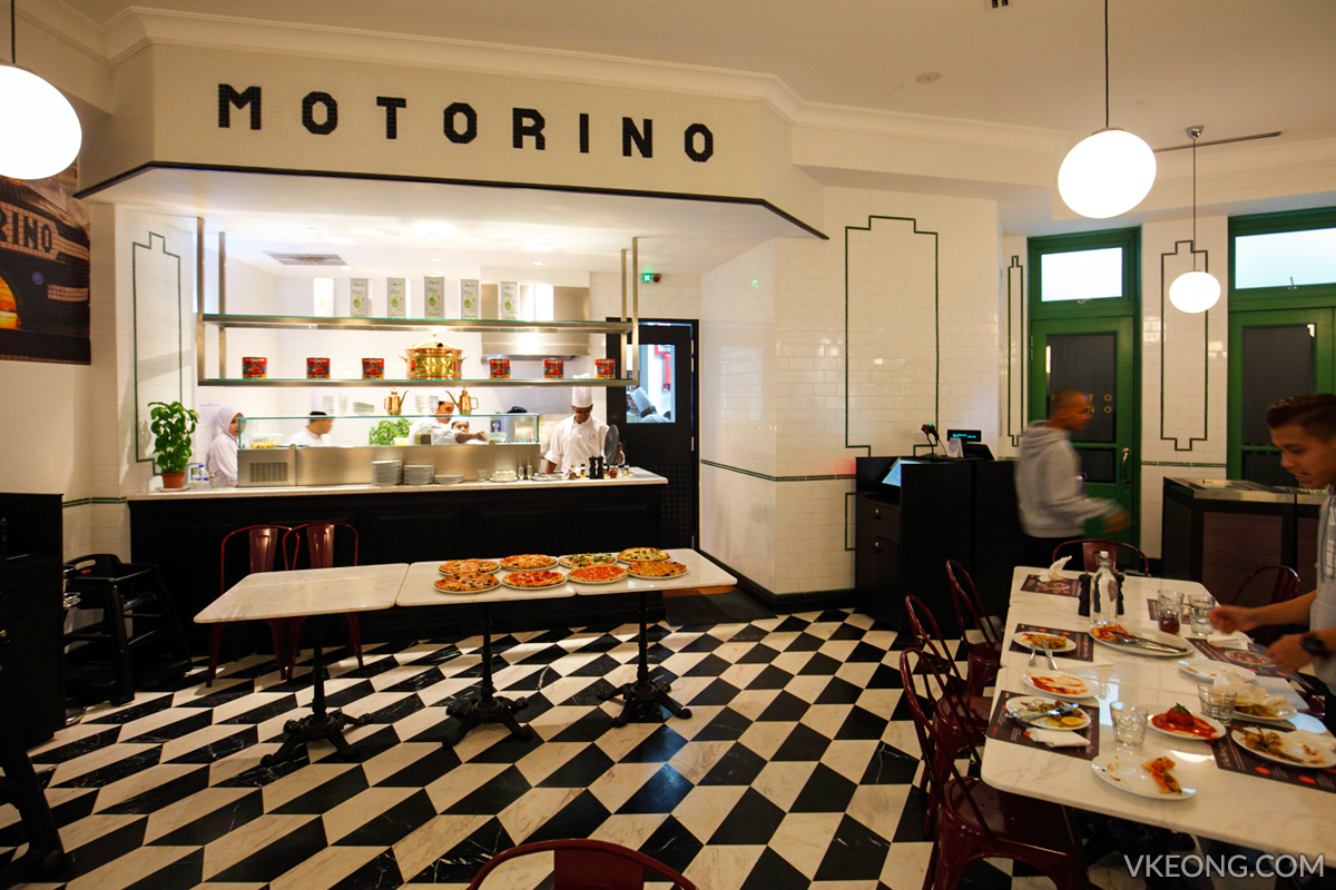 Motorino Pizza restaurant Genting