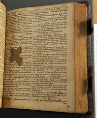 Interior of Christoph Sauer's 1743 Bible