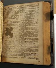 Interior of Christoph Sauer's 1743 Bible