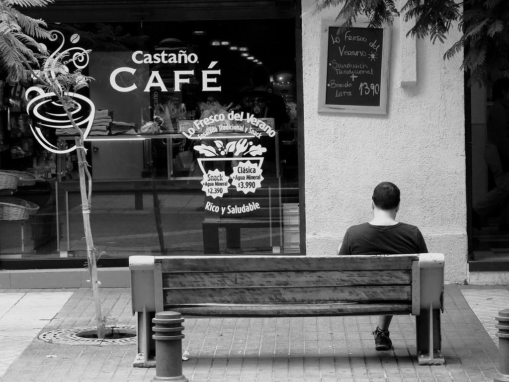 La banca frente al café