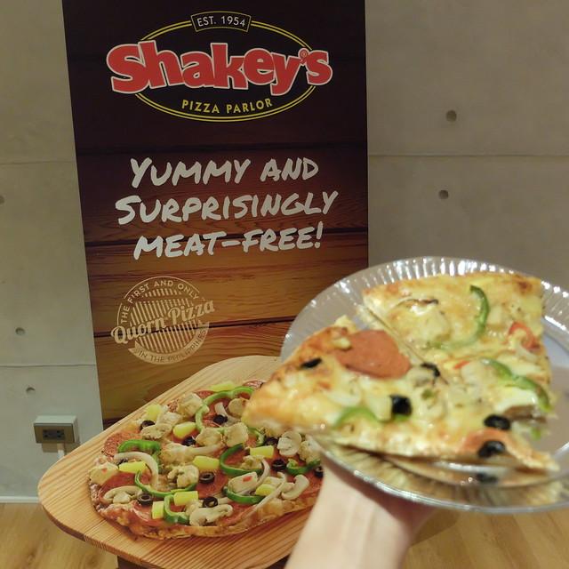 shakey's quorn pizza