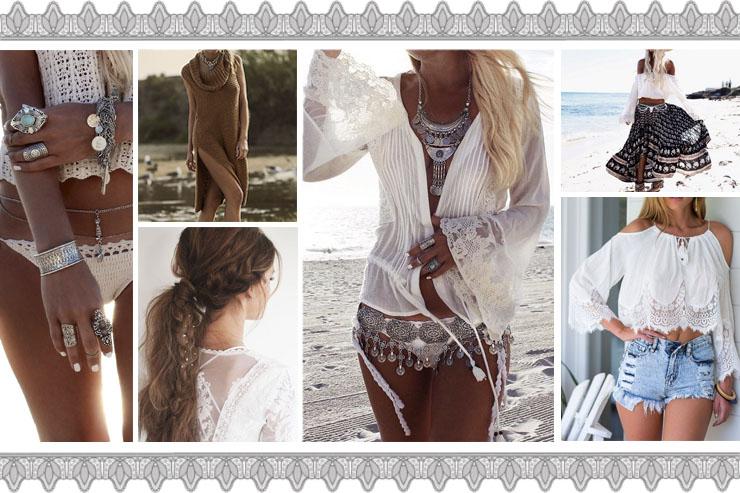 boho collage