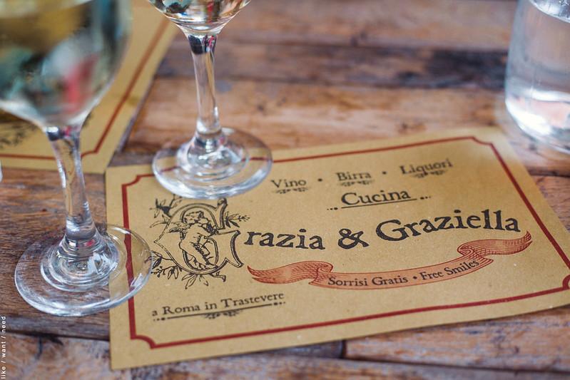 Grazia & Graziella, Trastevere