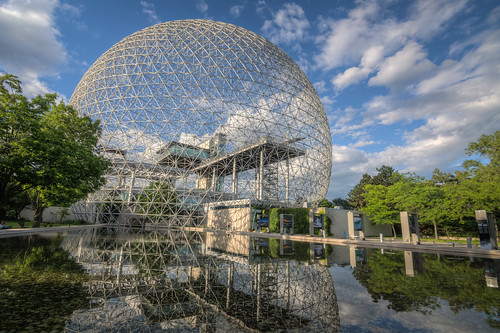Montreal Reflections - Biosphere