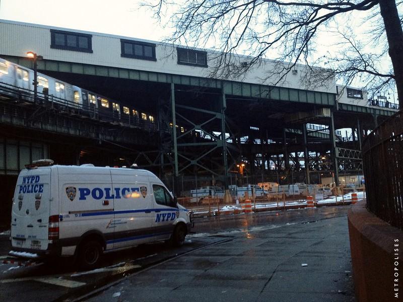 New York. Brooklyn. Broadway Junction