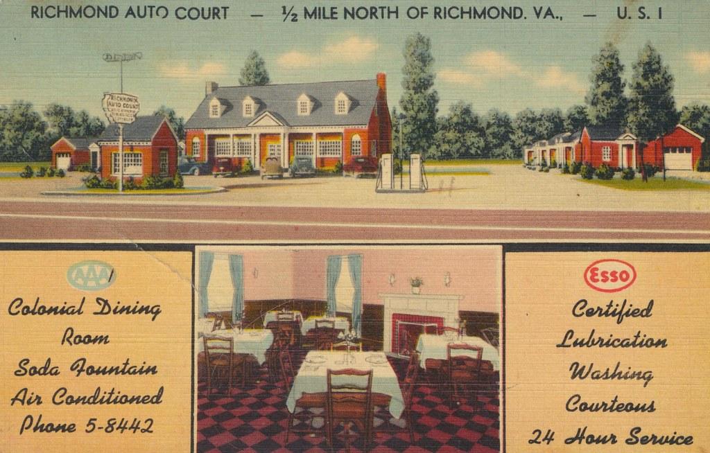 Richmond Auto Court - Richmond, Virginia