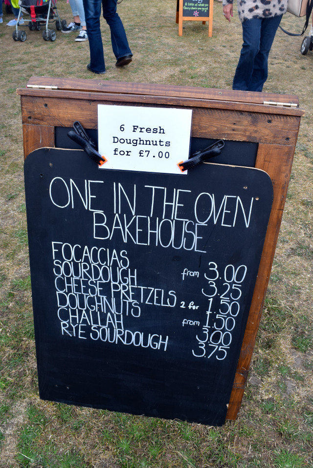One In The Oven Bakehouse at Walmer Food Festival