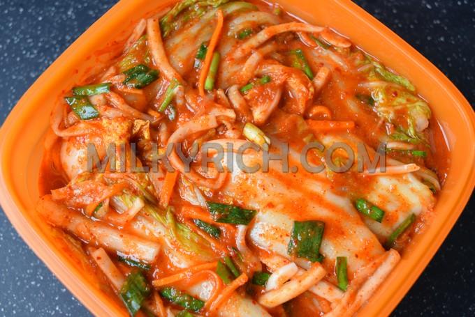 10- Kimchi cải thảo