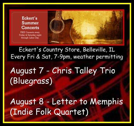 Eckert's Summer Concerts 8-7, 8-8-15