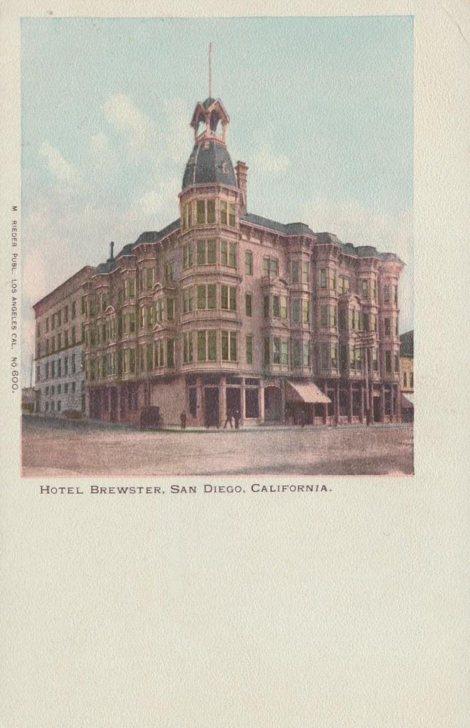 Hotel Brewster - San Diego, California