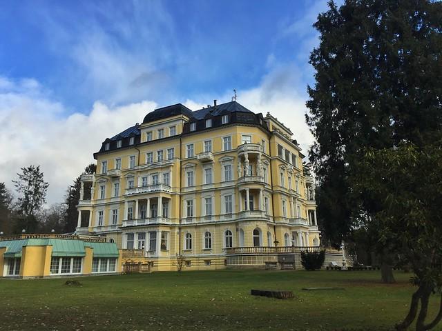 Hotel Imperial en Františkovy Lázně (Bohemia Occidental, República Checa)
