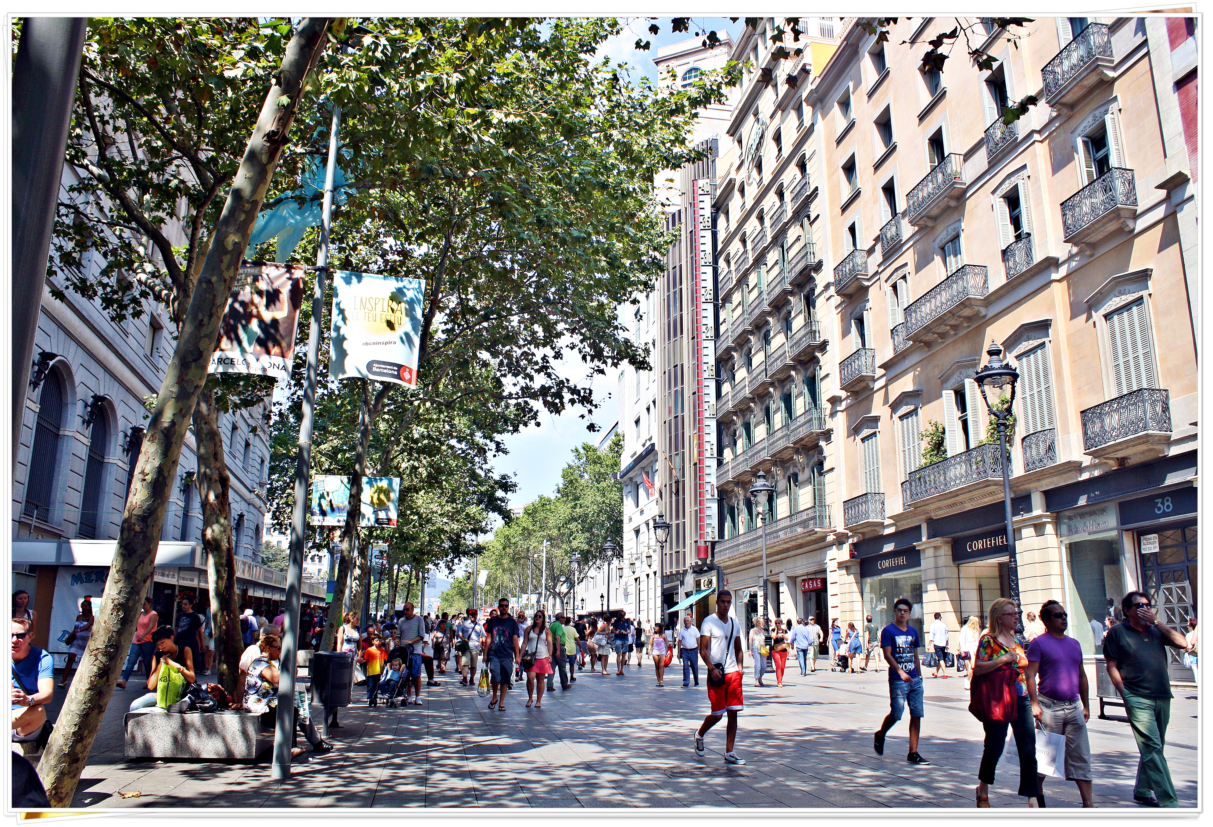 La Rambla - Barcelona, Spain 2013
