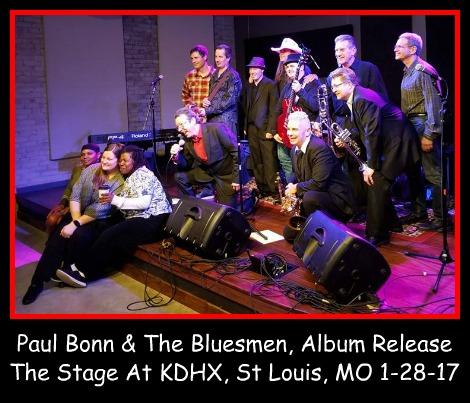 Paul Bonn Album Release 1-28-17
