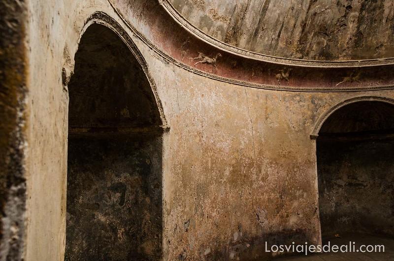 termas de la visita a Pompeya