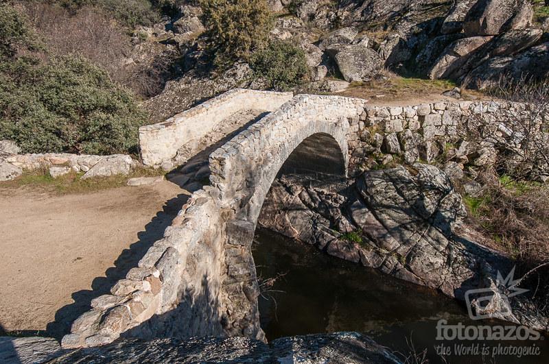 Puente del Pasadero en Navalagamella