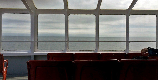 If Hopper had painted a ferry ride...