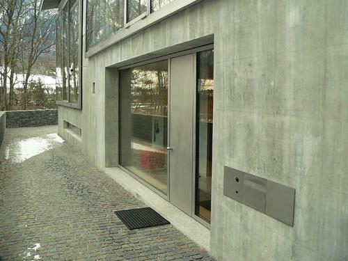 Maison Zumthor Haldenstein Entree Bulcourt Paterne Flickr
