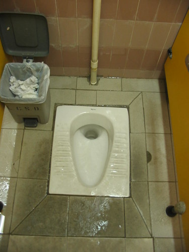 Squat Toilet Here Is A Toilet That Most Westerners Fear