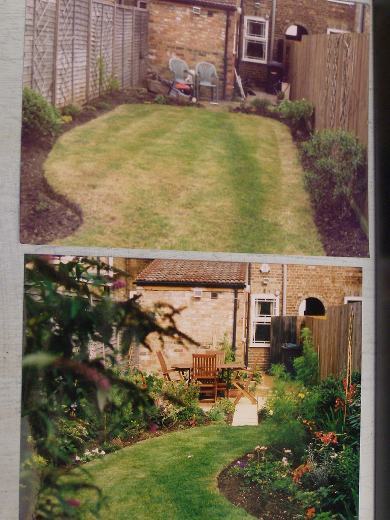 Long Thin Garden Before And After Makeover
