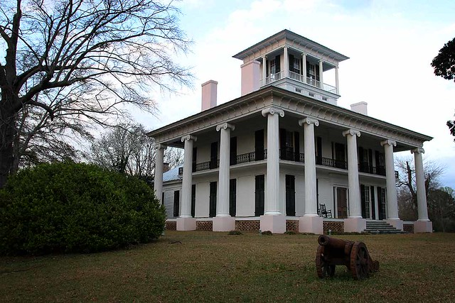 Americana Alabama Roadside This Antebellum Plantation