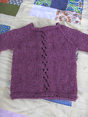back of wee sweater | by handmadegirl
