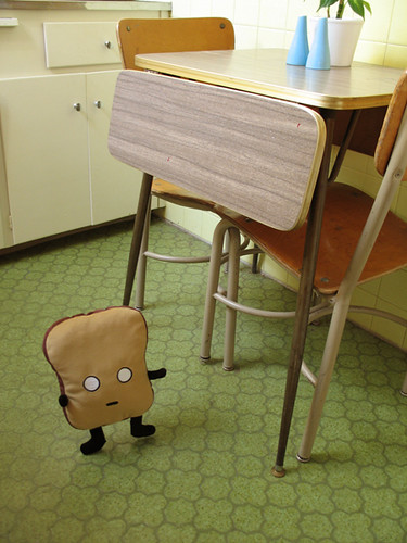 mr. toast in the kitchen | by Jess Hutch