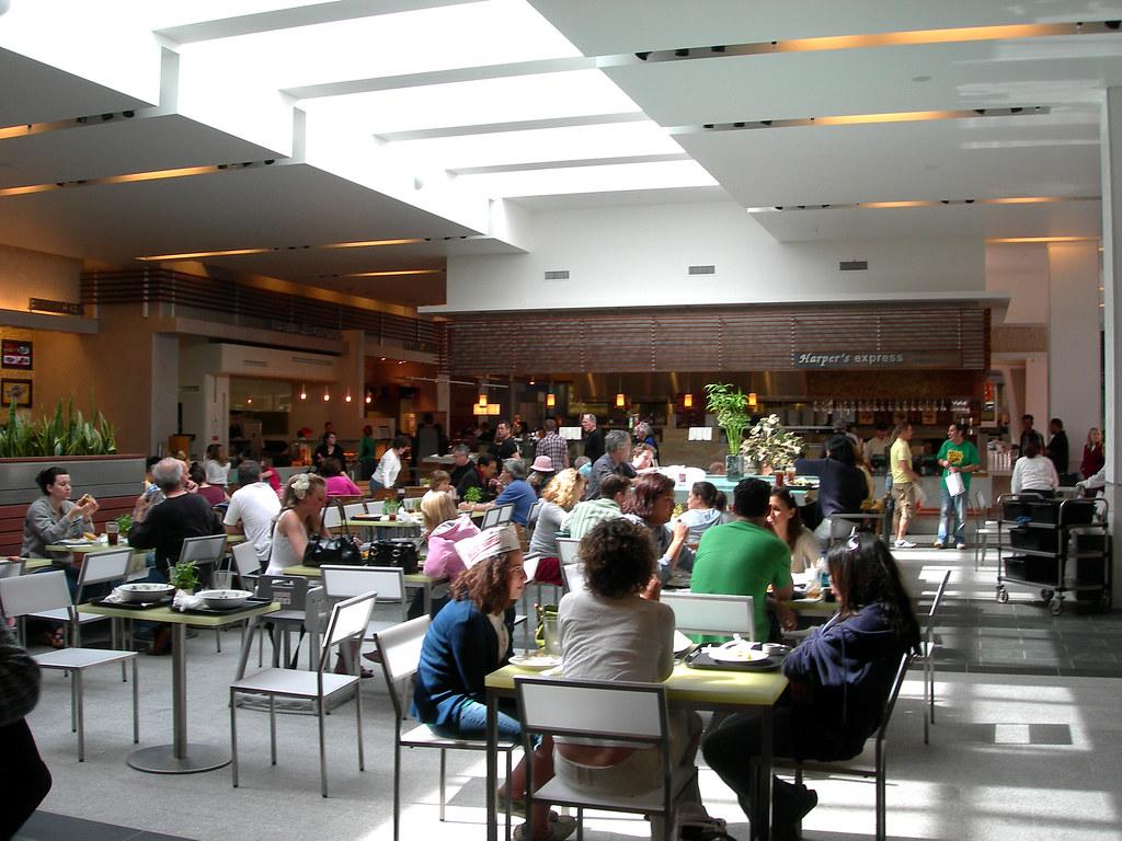 Food Court Westfield Century City
