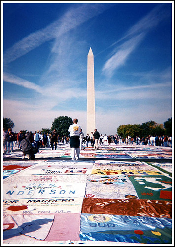 AIDS Quilt | by Flipped Out
