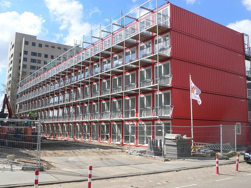 Shipping container apartments amsterdam there must Container appartement