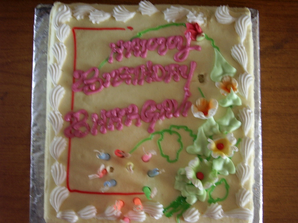 Birthday Cake For  Year Old Woman