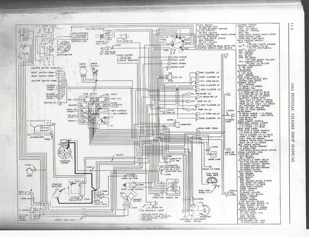 ... 1963 Pontiac - Wiring Diagram | by GHerbertR