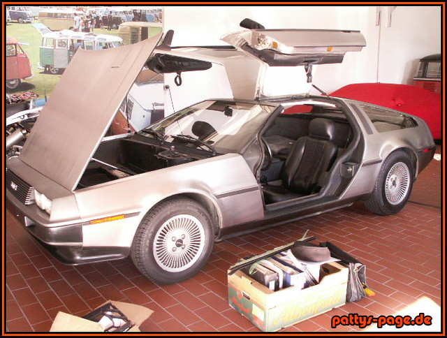 delorean das kultauto von zur ck in die zukunft the. Black Bedroom Furniture Sets. Home Design Ideas
