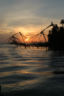 Sunset at Cochin, India 2005 | by exfordy