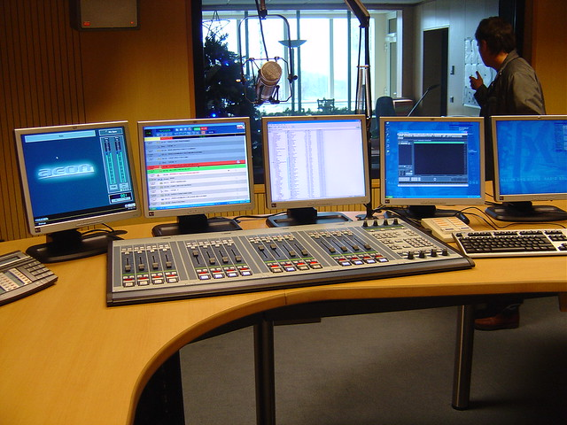 New Radio Luxembourg Studio Klotz Desk Flickr