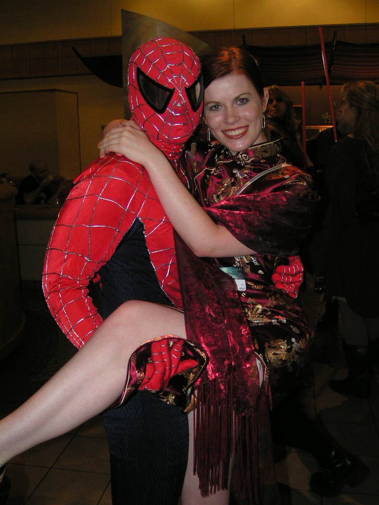 Spiderman and Mary Jane Watson | sjmck | Flickr