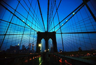 Brooklyn Bridge Blue | by Dave Kliman