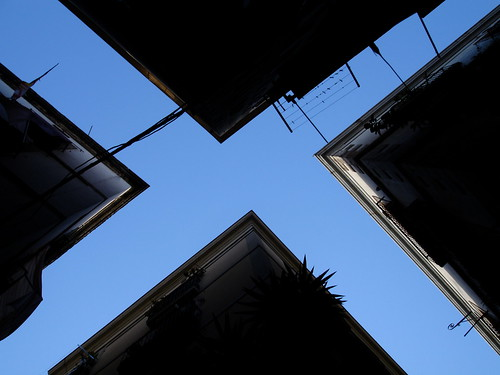 Looking up in El Born | by cityofsound