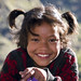 Smiling girl, Tatopani