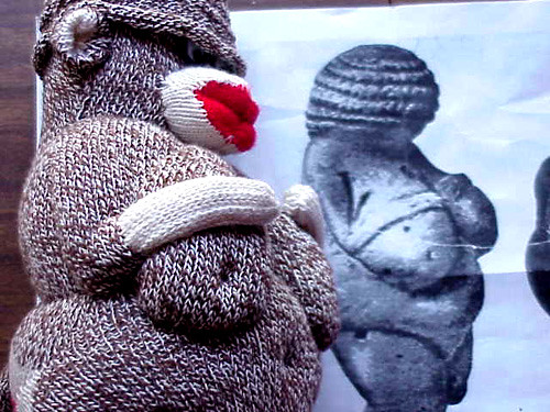 sock monkey of willendorf profile | by jessica wilson {jek in the box}