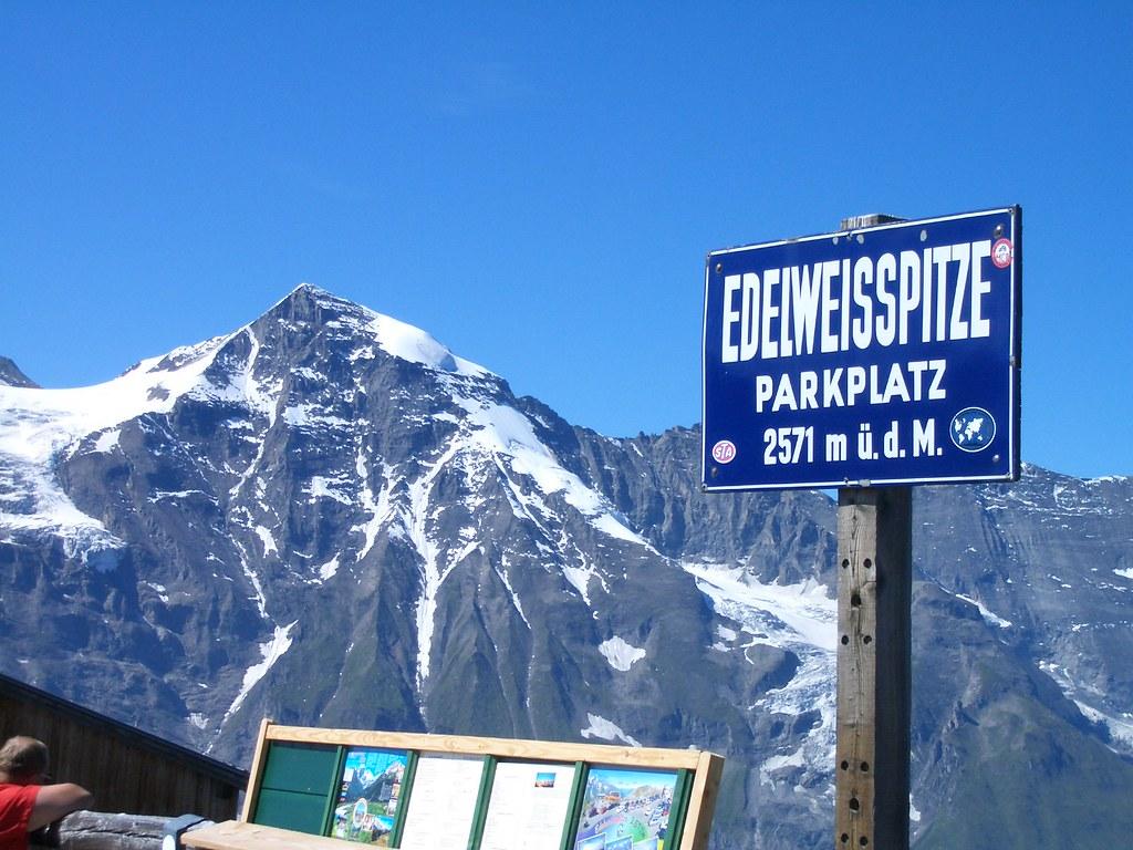Edelweiss Spitze Grosglockner High Alpine Road Austria